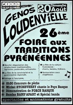 Foire aux traditions des Pyrénées Loudenvielle 2017