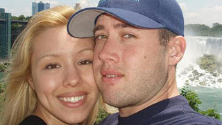 Jodi and Travis in happier times