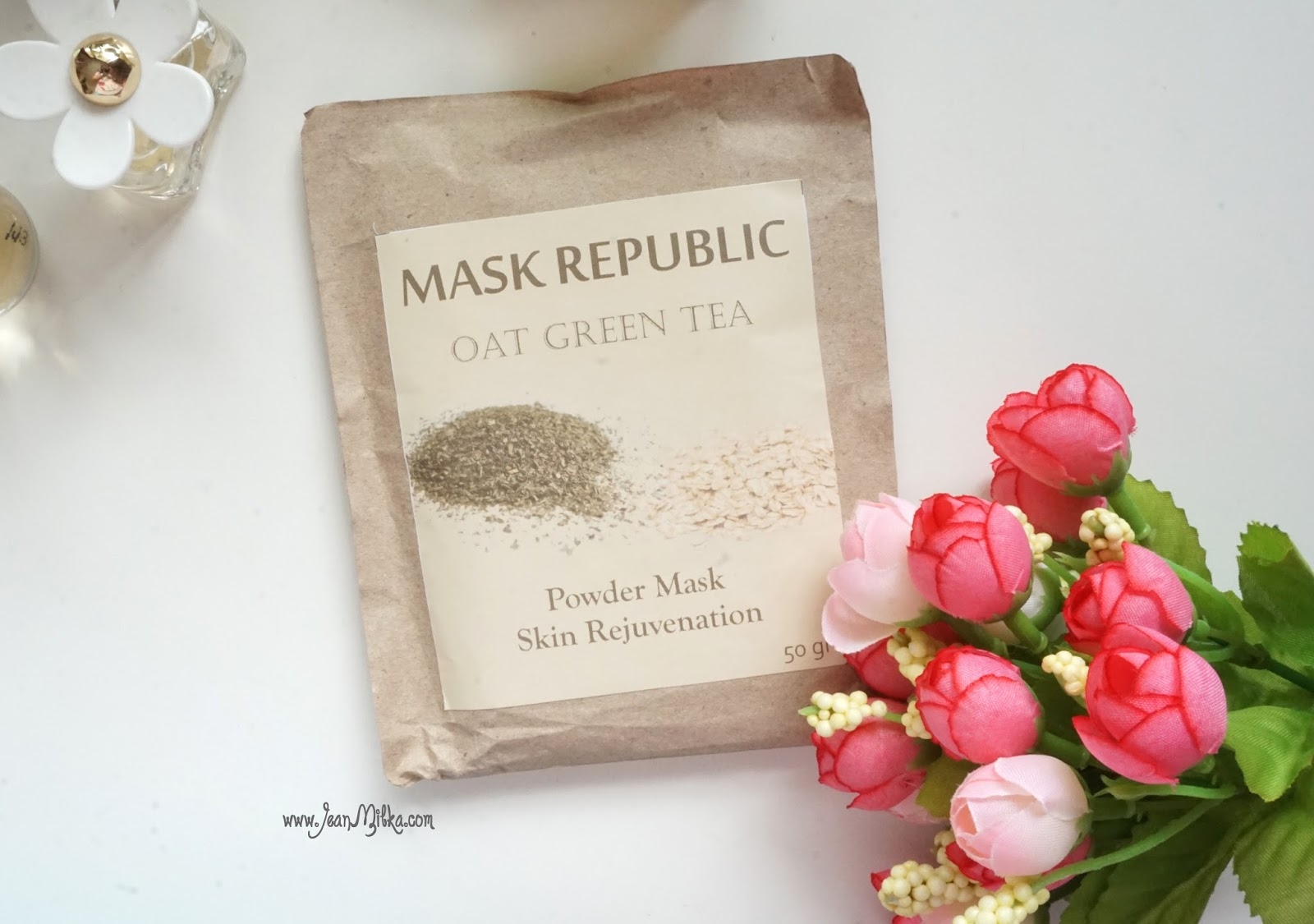 mask, homemade, oat, green tea, skin care, review
