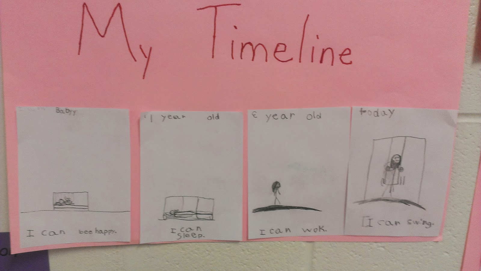 Leaping Into First Grade Timelines