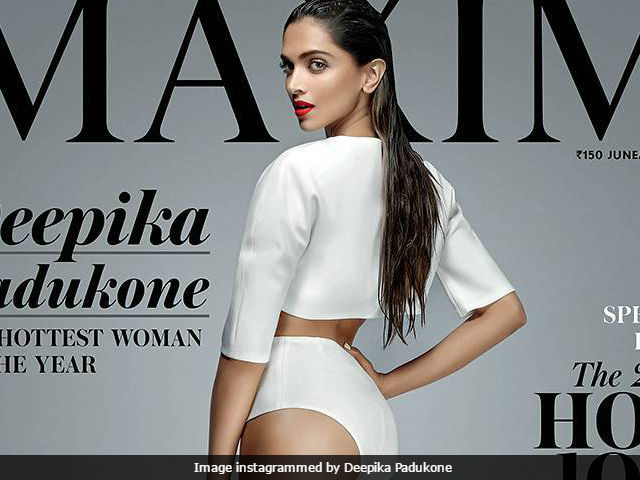 Deepika Padukone Spicy Stills for Maxim Magazine June 2017