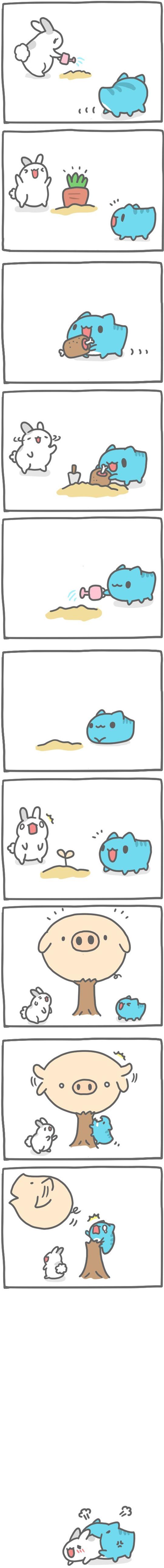 Truyện Mìn Lèo #121: Cây đùi lợn