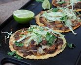 Mexican Pizza (Oaxaca Tlayuda)