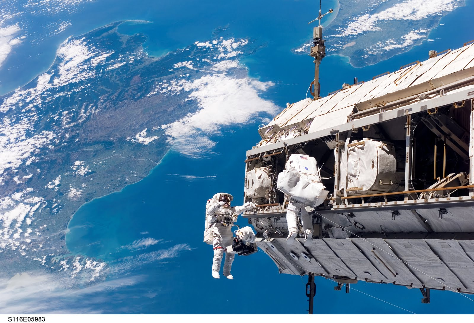 International Space Station Submerged ~ Environment Clean ...