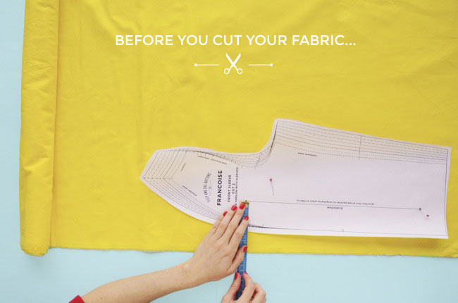 Before you cut your fabric... - Tilly and the Buttons