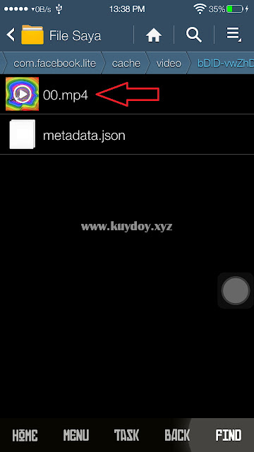 Cara Download Video di FB Lite Dengan Mudah