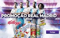 Promoção Real Madrid com Kellog's e Pringles promocaorealmadrid.com.br