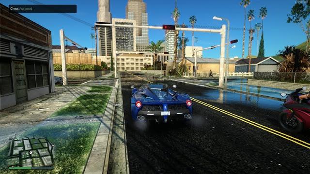 تحميل لعبة GTA SA محولة بمود GTA V بجرافيك 4K 2020 - موقع