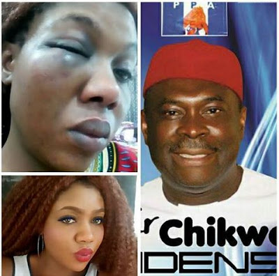 SHOCKING DETAILS OF HOW ABIA STATE GOVERNORSHIP CANDIDATE CHIKWE UDENSI BEAT AND LOCK UP HIS WIFE (GRAPHIC PHOTOS)