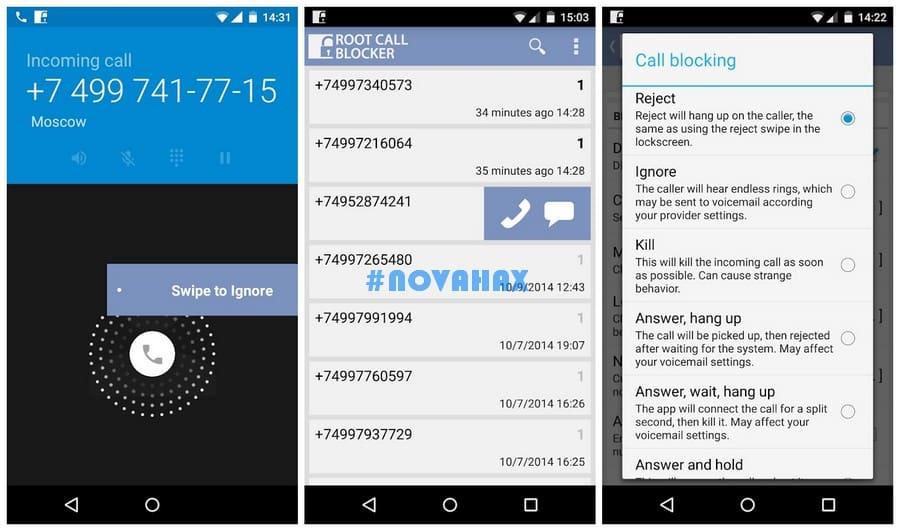 Root Call Blocker Pro 2 6 3 9 APK is Here! [Latest] | Novahax