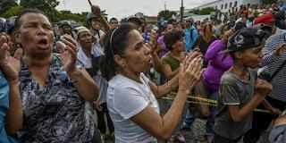 Parahnya Penjarahan di Venezuela