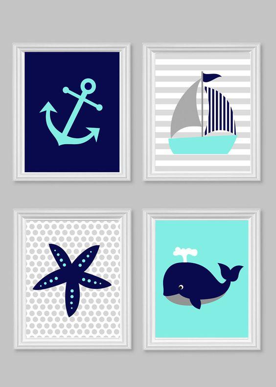 Se acerca el verano viste tu casa con un look navy - Nudos marineros decorativos ...