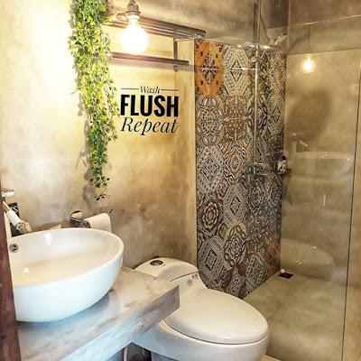 Keramik batu alam untuk lantai kamar mandi