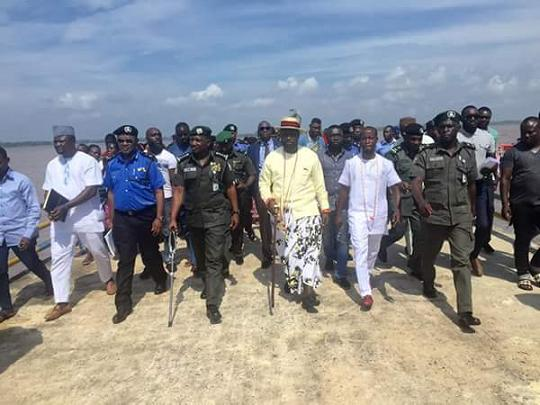 IG of Police and Warri billionaire, Ayiri Emami visit communities in Warri, Delta state