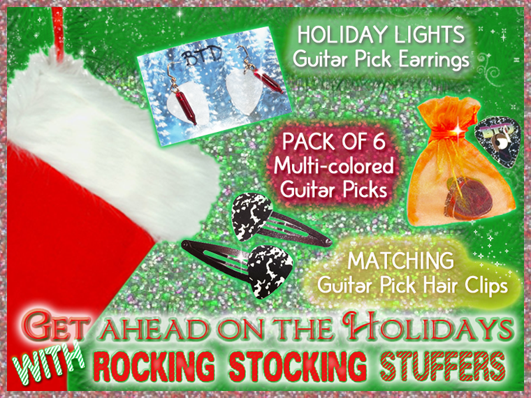 Rocking stocking stuffers!