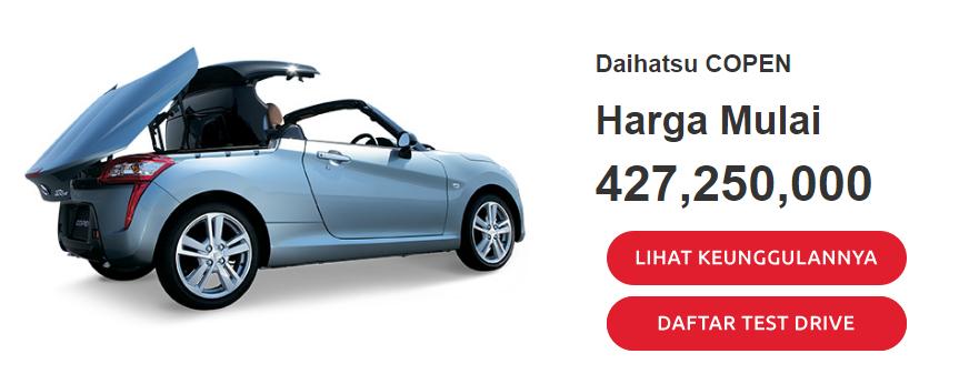 List Daftar Harga Semua Merk Mobil Daihatsu Terbaru Dan Terupdate Mei 2017 Topik