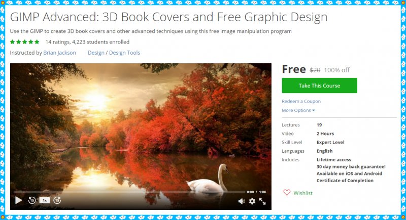 How To Make A Book Cover Using Gimp : Free udemy coupon gimp advanced d book covers and
