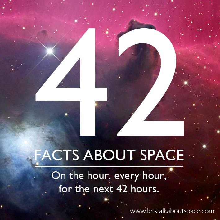 42 Interesting Facts About Space - The Geek Twins
