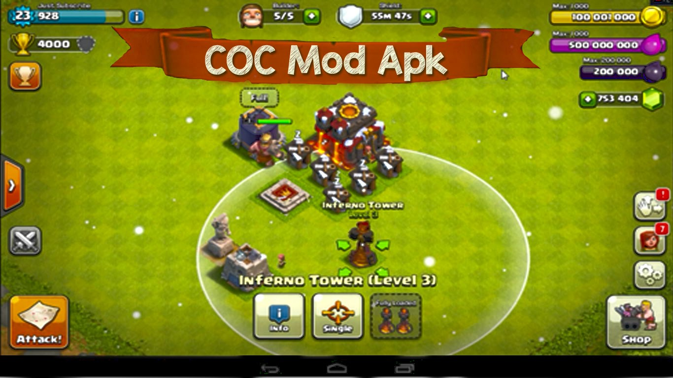 Clash Clans Hacks Cheats Mods COC Hacks Cheats Mods Guides