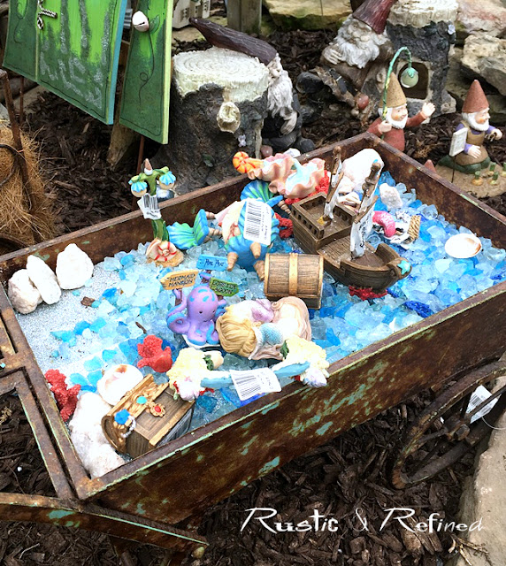 Pirates of the Caribbean Style Fairy Garden