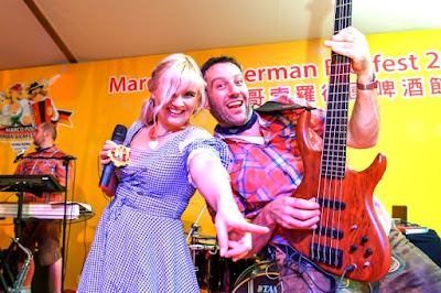 German musical group The Notenhobler band, Marco Polo Hotels - Hong Kong
