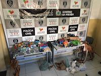 Após operação policial em Picuí, comerciante é preso com munição e material de recarga