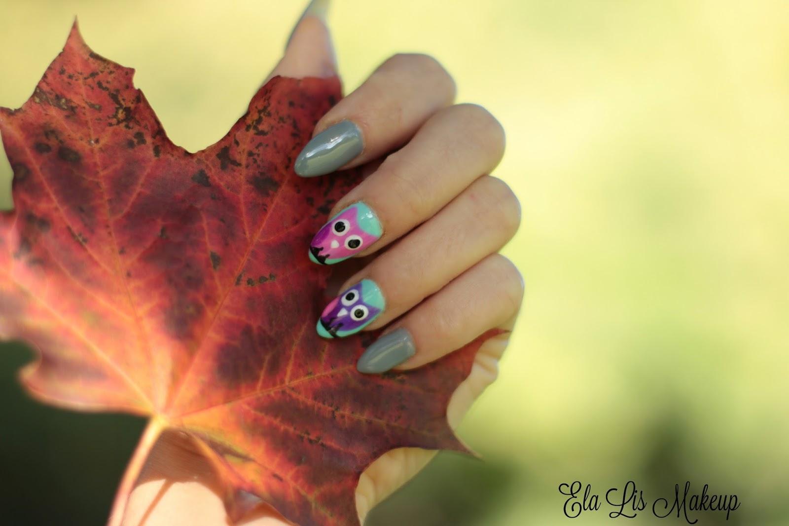 Autumn Nails - Jesienne Sówki !