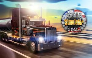 تحميل لعبة Truck Simulator USA مهكرة مجانا للاندرويد