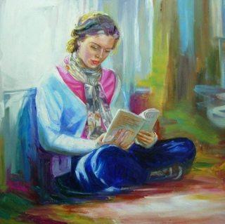 У краски есть душа. Maria Teresa Aroz Ibanez