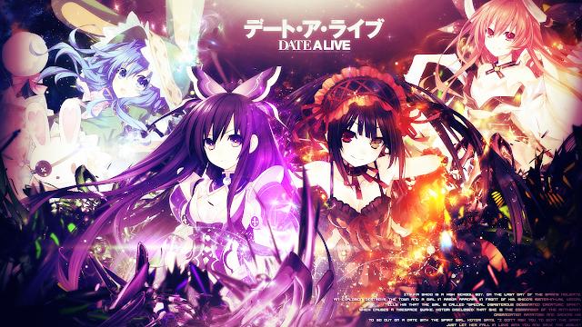Date a Live (12/12) + OVA (80MB) (HDL) (Sub Español) (Mega)