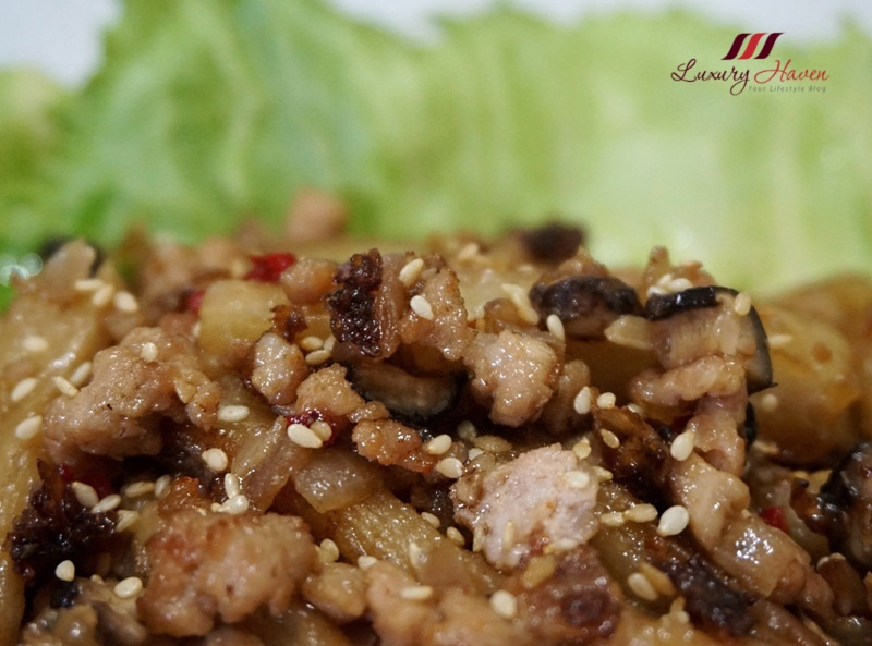 delicious spicy eggplant with minced meat recipe
