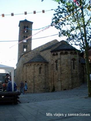 Iglesia de Santa María de Taull, Valle de Boí (Lérida)