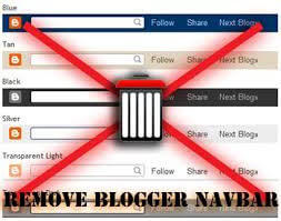 How to Hide or Remove Blogger Navbar in Blogger