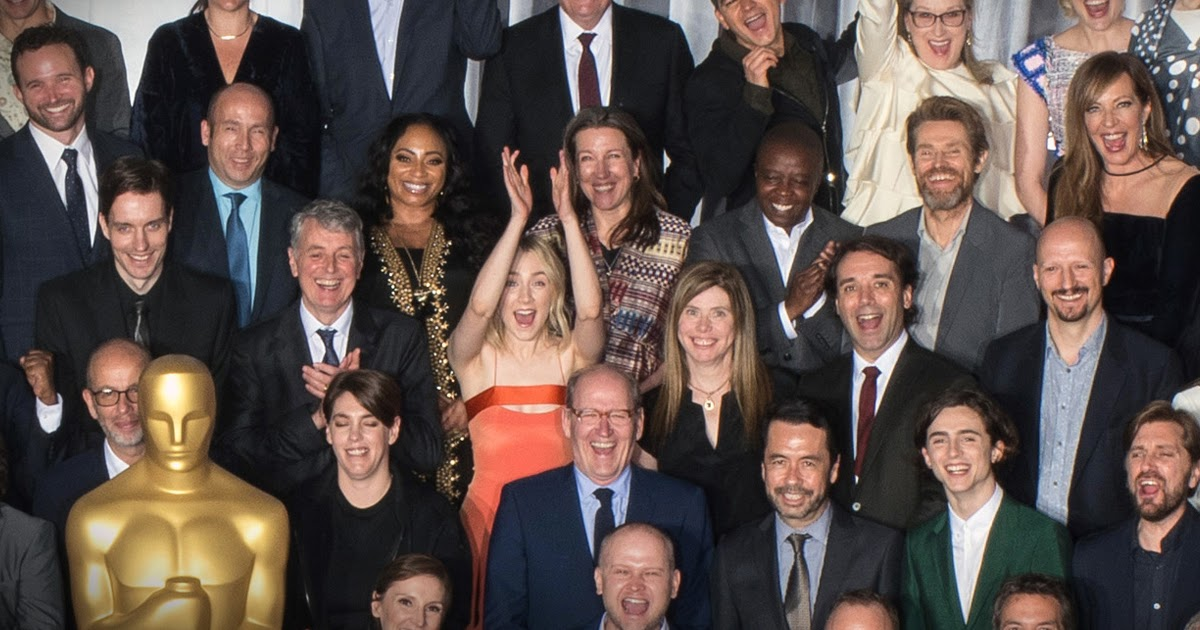 Oscars 2018: Nominees celebrated at luncheon; take 'Oscar Class Photo'