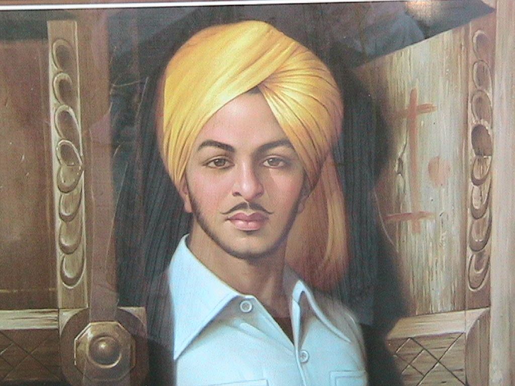 Janam Din Or Birthday Wallpapers Of Sardar Bhagat Singh In