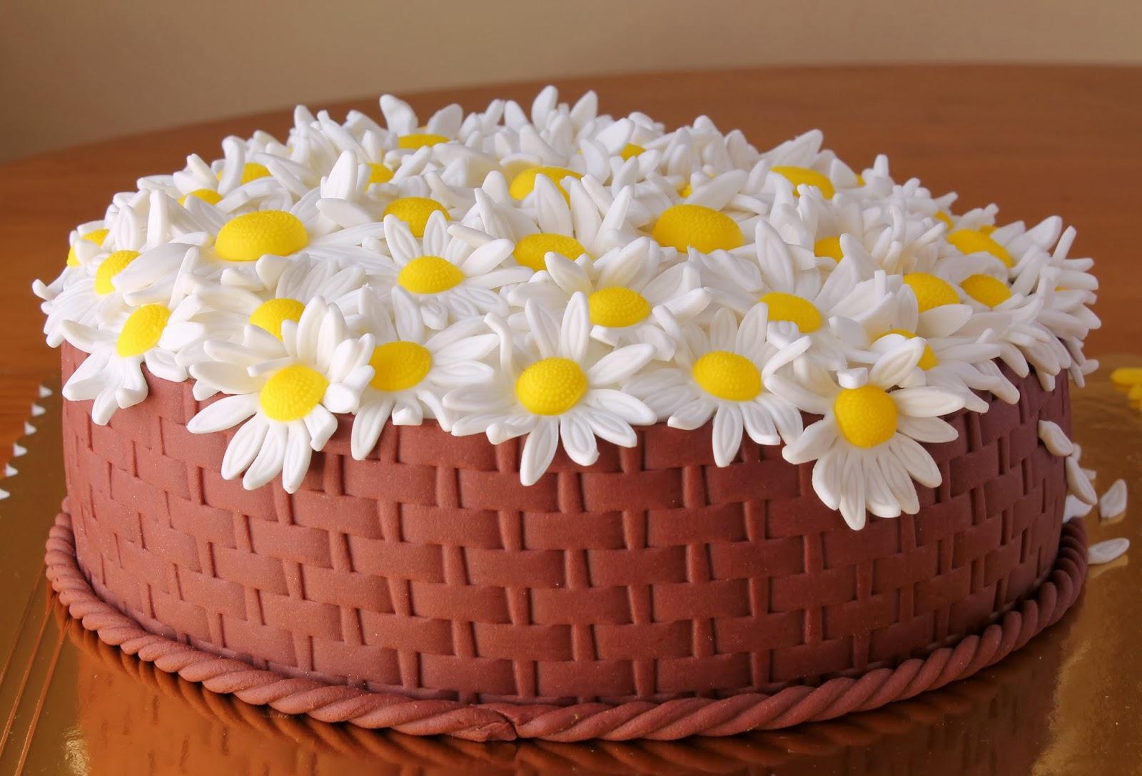 Flores De Aniversario: Bolos Da Tia: Bolo Aniversario Flores