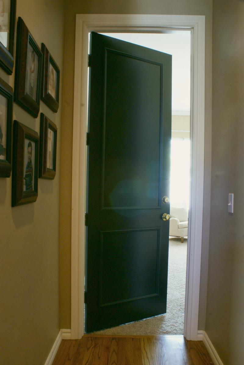 Bedroom Door With Lock: BLACK INTERIOR DOORS