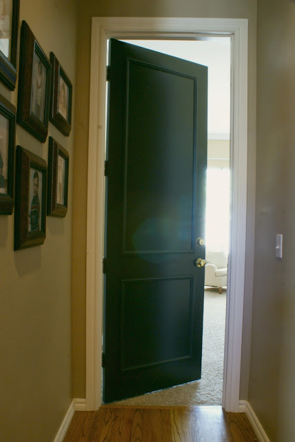 Dimples And Tangles Black Interior Doors