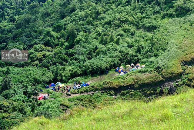 Mt. Pico de Loro campsite