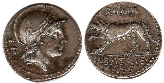 Monedas de la antigua Roma y propiedad