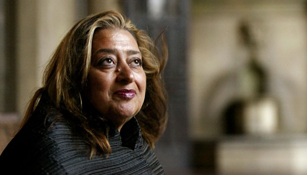 Arsitek Zaha Hadid. AP