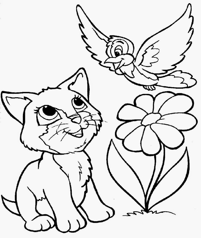 Fat Cat Coloring Pages Printable – Colorings.net