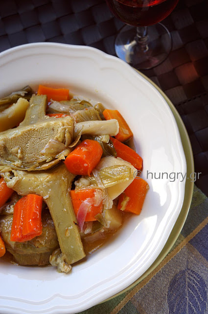 Artichokes with Carrots
