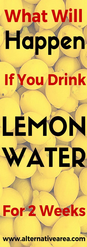 What Will Happen If You Drink Lemon Water For 2 Weeks