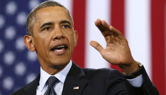 अमेरिकी राष्ट्रपति बराक ओबामा बोले- बचाव की मुद्रा में है इस्लामिक स्टेट