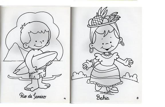 Para Niños De Dibujos Animados Caras Diferentes: Mi Escuela Divertida: Niños De Diferentes Países Para