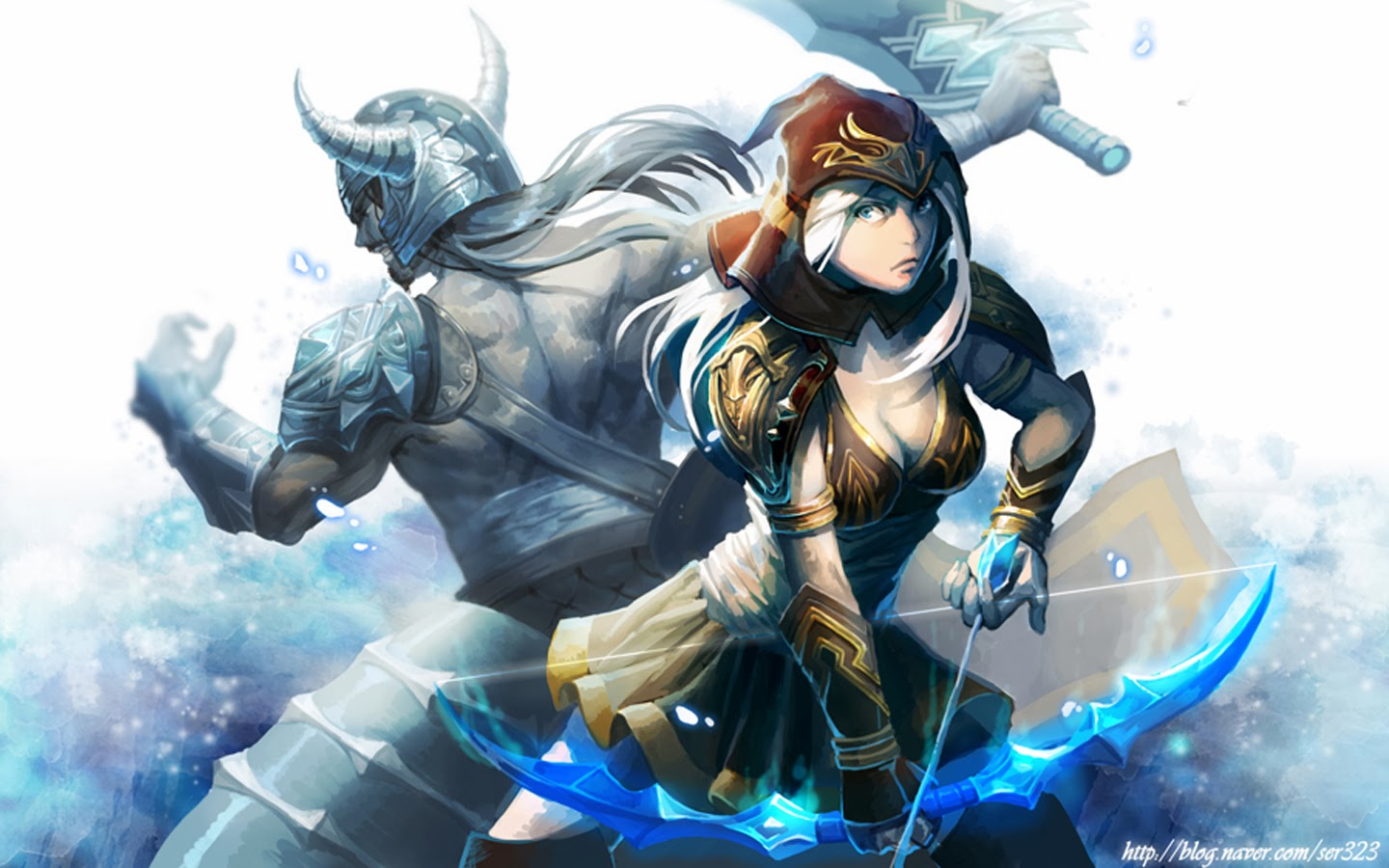 ashe and tryndamere le...