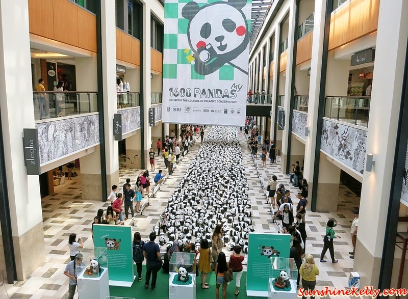 1600 Pandas World Tour in Malaysia, 1600 Pandas My, 1600 Pandas, 1600 Pandas Publika, Panda Exhibition, Pandamonium, Environmental Conservation