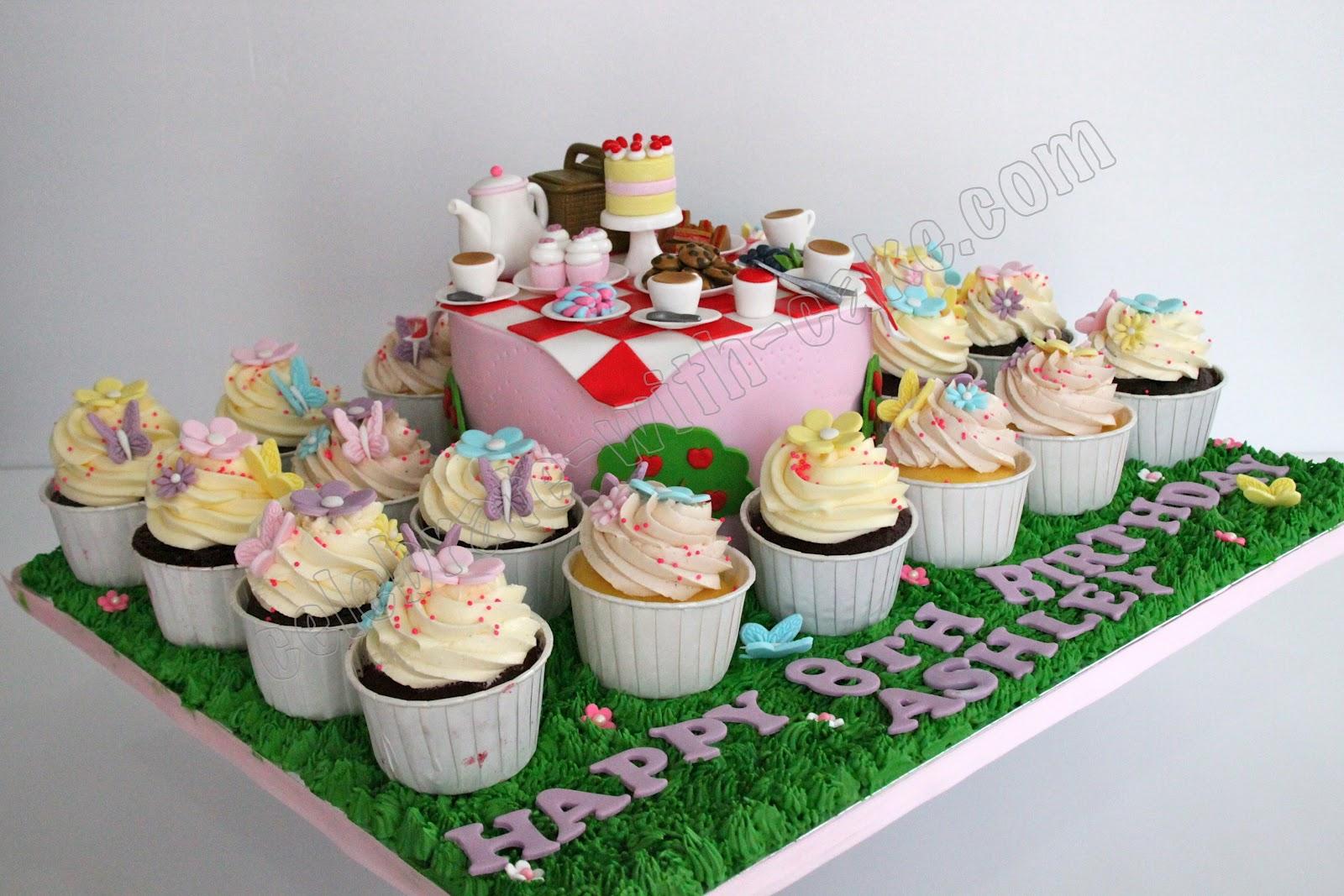 Picnic Tea Party Cake