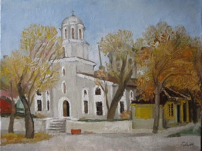 Болгарский художник. Gencho Denchev